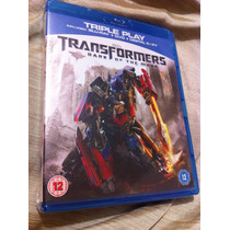 Transformers Dark Of The Moon Bluray-dvd Imp. Inglaterra