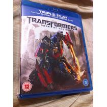 Transformers Dark Of The Moon Bluray-dvd Import Importado