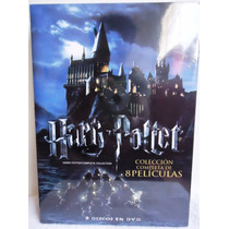 Harry Potter Coleccion Completa De 8 Películas Boxset Dvd