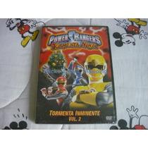 Power Rangers Tormenta Ninja Tormenta Inminente Vol.2 Dvd