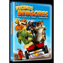 Dvd Infantil Vecinos Invasores Over The Hedge Nueva Sellada