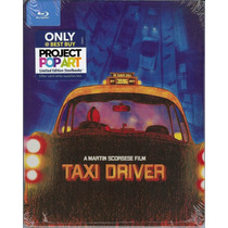 Taxi Driver Limited Steelbook Pelicula Importada En Blu-ray