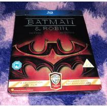 Batman & Robin - Bluray Steelbook Limitado Importado Europa