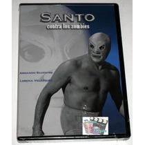 Dvd: Santo Contra Los Zombies (1961) Nuevo Y Sellado!!