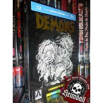 Bluray Demons 1 Y 2 Steelbook Limited Edition Horror Gore