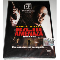 Dvd Bajo Amenaza (2005) Bruce Willis Nuevo Y Sellado!!
