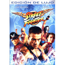 Dvd Street Fighter ( 1994 ) La Ultima Batalla - Steven E. De