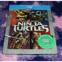 Las Tortugas Ninja - Bluray + Dvd Edicion Steelboook 2014