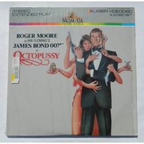 Pelicula Laser Disc James Bond 007 Octopussy Roger Moore