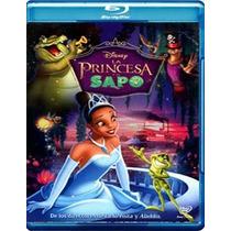 La Princesa Y El Sapo En Combo Blue Ray + Dvd Envio Gratis