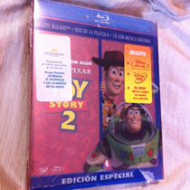 Toy Story 2 Edición Especial Bluray/dvd/cd 3discos