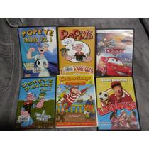 Paquete De Peliculas Infantiles - Cars - Popeye - George Cur