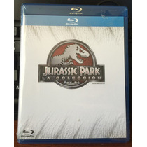Jurassic Park Bluray Tetralogia Parque Jurasico 1 A 4