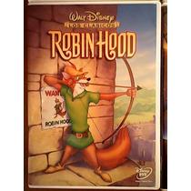 Robin Hood Walt Disney Película Infantil Black0012010