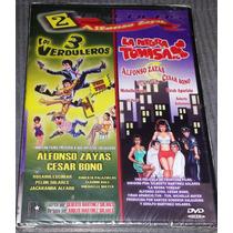 Dvd Doble Los Verduleros 3 Y La Negra Tomasa Alfonso Zayas