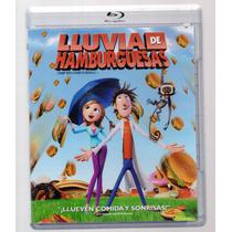 Lluvia De Hamburguesas Animacion Infantil Pelicula Blu-ray