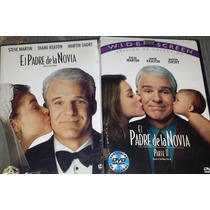 Dvd Doble El Padre De La Novia 1 Y 2 Steve Martin