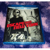 Escape From New York - Bluray + Dvd Importado John Carpenter