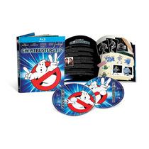 Ghostbusters 1 & 2 Cazafantasmas Peliculas Digibook Blu-ray