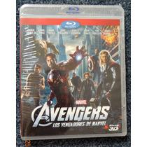 Blu-ray 3d Avengers Nueva Y Sellada Bluray Los Vengadores