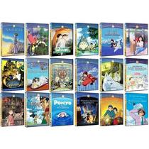 Colección Completa 18 Dvd Hayao Miyasaki - Estudio Ghibli