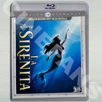 :: La Sirenita :: Bluray 3d + Regalo ( Disney Pixar )