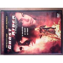 Ghost Rider Marvel Dvd Películas Black0012010