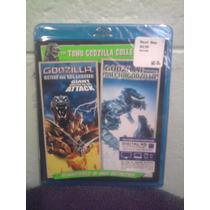 Blu Ray Doble Godzilla Kaiju Monstruo Mekagodzilla G. 2000