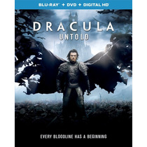 Dracula La Historia Jamas Contada - Bluray + Dvd Importado