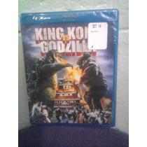 Blu Ray Ciencia Ficción King Kong Vs Godzilla Kaiju Monstruo