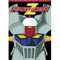Dvd Paquete Anime Mazinger Z Serie Completa Latino Tampico