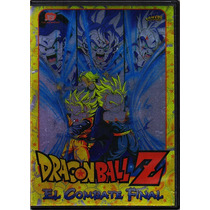 Dragon Ball Z El Combate Final , Anime Pelicula En Dvd