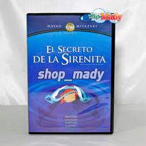 Studio Ghibli El Secreto De La Sirenita (ponyo) Dvd Reg.1,4