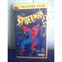 Vhs Spiderman El Hombre Araña En Español Marvel Universe