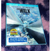 The Walk - En La Cuerda Floja - Bluray 3d + 2d Importado Usa