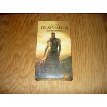 Gladiador Vhs Película Nueva Y Sellada De Colección