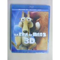 La Era De Hielo 3 En 3d ( Bluray 3d + Bluray + Dvd )