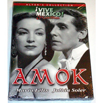 Dvd Amok (1944) Maria Felix, Julian Soler, Rgl