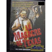 Dvd Pelicula : Masacre En Texas / Texas Chainsaw Masacre