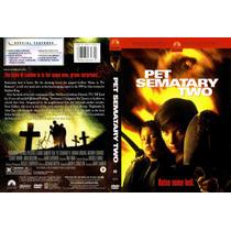 Dvd Gore Stephen King Pet Sematary 2 Cementerio De Mascotas