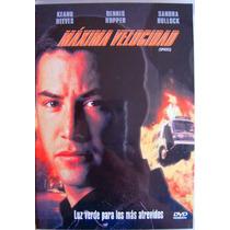 Dvd / Maxima Velocidad / Keanu Reeves / Sandra Bullock