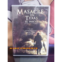 Masacre En Texas El Inicio Terror 100% Original Movie Dvd