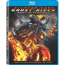 Ghost Rider 2 Espiritu De Venganza ( Bluray ) Lbf