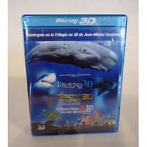 Jean-michel Cousteau, Trilogia De Peliculas, Blu-ray 3d