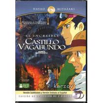 El Increible Castillo Vagabundo, Hayao Miyazaki, Dvd