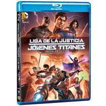 Liga De La Justicia Y Jovenes Titanes Union Accion Steelbook