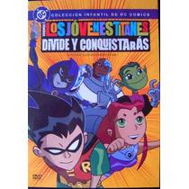 Los Jovenes Titanes Vol 1 / Dc Comics / Dvd