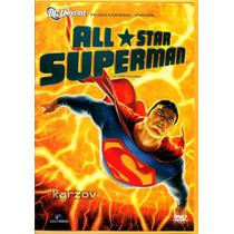 All-star Superman, Cine Animacion, Dc Comics, Dvd