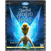 Tinker Bell Y El Secreto De Las Hadas 3d, Disney, Blu-ray