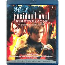 Resident Evil Degeneracion, Pelicula Animacion, Blu-ray
